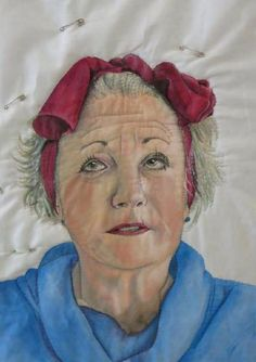 #ClippedOnIssuu from Through Our Hands Magazine Issue 2 Aug 2014  This is the work of quilt artist Annabel Rainbow, who is masterful when it comes to depicting womankind in quilting.