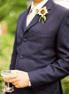 Elegant English Manor Outdoor Wedding