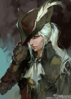 Bloodborne, Lady Maria of the Astral Clocktower