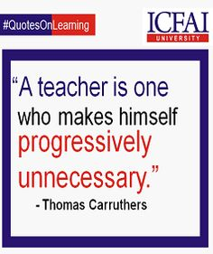 The Art of Teaching shines through with minimum guidance and maximum involvement.  #Teaching #Mentoring #Learning