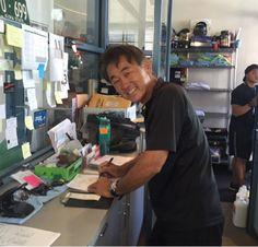 さとうあつこのハワイ不動産: ヤジマサービスステーション