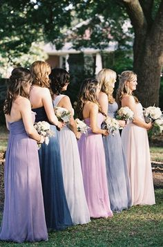 Mix and Match Bridesmaid Dress Ideas | Bridal Musings Wedding Blog 24