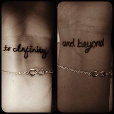 Friendship tattoos and bracelets @Sacha jordforbindelsen.com jordforbindelsen.com jordforbindelsen.com