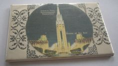 Pocket Mirror from the Golden Gate International by vintagehouses