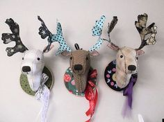 "free deer head patterns | Simply Softies"" is a collection of twelve of my favourite softie ..."