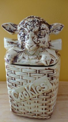 Vintage Cookie Jar by McCoy