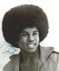 the Afro of the 70's & 80's - Jermaine Jackson
