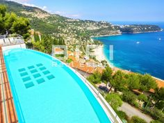 This property has been suspended. This property is for sale or for rent, and it is located only 2 minutes from Monte Carlo. This sumptuous villa on… Natural Swimming Pools, Natural Pools, Garage Lift, Pool Landscaping, Backyard Pools, Modern Properties, Small Pools, Dream Pools, Pool Decks