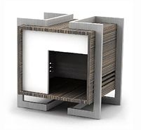 This pet dwelling from Urban Pet Haus is perfect for the urban pup or cat. Modern Dog Houses, Cool Dog Houses, Niches, Dog Furniture, Dog Rooms, Dog Wallpaper, Animal Projects, Pet Home, Cool Pets