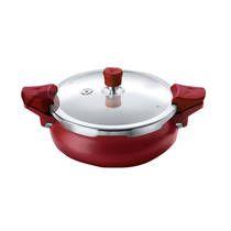 For 1194/-(40% Off) Pigeon Belita Hard Anodized Super Cooker Set 3L