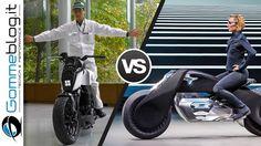 Bike of the FUTURE: Self Balancing Honda VS Bmw Motorrad VISION NEXT 100 Motorcycle - YouTube
