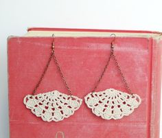 Crochet Earrings.