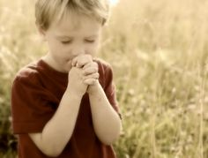 Little Boy and Girl Praying | oh, to have the faith like a child.....