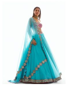 Salwar Designs, Lehenga Designs, Dress Designs, Blouse Designs, Indian Wedding Outfits, Bridal Outfits, Indian Outfits, Indian Clothes, Ethnic Clothes