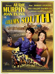 Column South Created by: Metek Artwork Production Classic Tv, Classic Movies, Kingston, Cowboy Artwork, Cowboy Films, Best Movie Posters, Film Posters, Old Western Movies, Classic Disney Movies