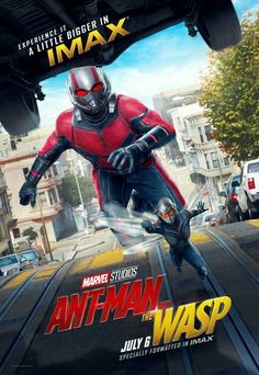 Ant-man and the Wasp movie Poster #Ant-man #ant-manandthewasp Fantastic Movie posters #SciFi movie posters #Horror movie posters #Action movie posters #Drama movie posters #Fantasy movie posters #Animation movie Posters