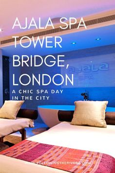 Ajala Spa Tower Bridge London. Enjoy a #spa day at the Grange Hotel in Tower Bridge #london and relax in the excellent Ajala Spa. #massage #luxury #wellness #wellnesstravel #travel #unitedkingdom
