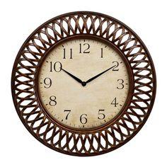 Bronze Weave Clock 30x32in.   $60