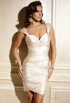 Vestidos de Coctel 2011. Terani Couture.
