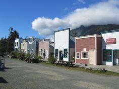 Dalton City AK Movie Set &  Location of Haines Brewing Co.  copyrighted 2014 Dark Woods Studios, Ltd. Co. dwoodstudio.com