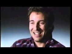 Bruce Springsteen's Laugh --> It's a lot to listen to all at once but I do love his scratchy, crazy laugh. :-)