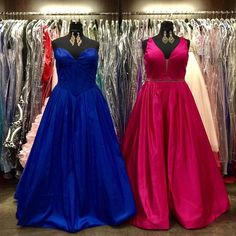 Double Trouble  All About The Dress carries plus size for Prom! We understand that everyone is different that's why we cater to all body shapes 00-28. Ball gown Two-Piece Mermaid or Chiffon? Our expected New Arrivals are coming in all shapes and sizes. Stop by today for the best selection! #allaboutthedress #perfectingprom #doubledressoftheday - http://ift.tt/1HQJd81