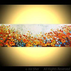 Mother's Day ORIGINAL Modern Large Fine Art Impasto by IraSher
