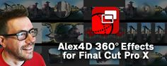 Alex Gollner – known to many the Final Cut community as Alex4D – has just released a new set of...