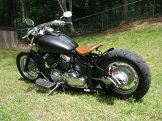 yamaha v-star with bobber handle bars | 2001 Yamaha v star 650 $4,500 Firm - 100282071 | Custom Cruiser ...