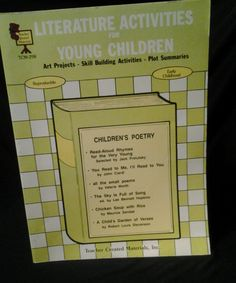 Literature Activities for Young Children Art Projects,Skill building #activities