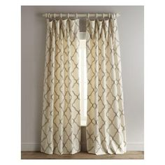 "Legacy Home Two 50""W x 96""L Elysian Curtains  http://beso.ly/rd/4376881965?a=416213=1"