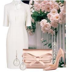 Vestido en blanco