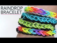 ▶ Rainbow Loom: Raindrop Bracelet