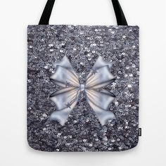 #Society6 - Silver Tote Bag by Elena Indolfi - $22.00