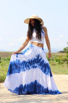 Boho Skirt / Maxi Skirt / Maxi Boho Skirt /Modest Skirt / Beach Skirt /Full Length skirt / Tie Dye Skirt/ Long Skirt Modest Skirts, Boho Skirts, Maxi Skirts, Beach Skirt, Beach Dresses, Aladdin Pants, Wrap Skirts, Drop Crotch Pants, Hippie Pants