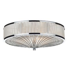 Dar Lighting Oslo 3 Light Flush Ceiling Light & Reviews | Wayfair.co.uk