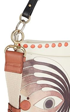 8a7133ea5553 Chloé Roy Flat Leather Shoulder Bag - Shoulder Bags - 505616980 Designer  Crossbody Bags