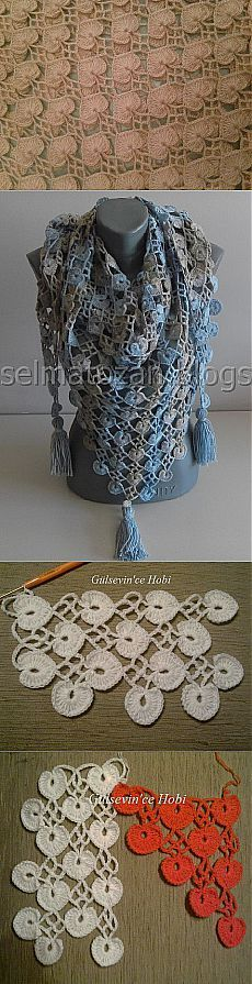Crochet Pattern-liked! Shawl Gelibolu.  Discussion on LiveInternet - Russia |  Crafts: knitting, sewing, and others.