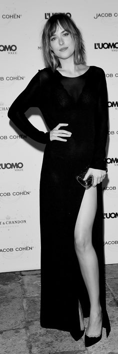"""Dakota Johnson at the L'Uomo Vogue Event in Venice on September, 05 """