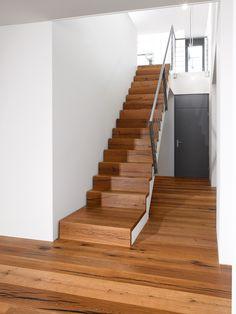 Tiger OAK black, brushed, natural oil I Stairs I natural wood floors I mafi.com