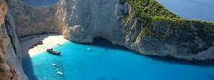 Zakynthos tie in Griekenland Shipwreck, Zakynthos, Greece, Beautiful Places, Vacation, Beaches, Outdoor Decor, Destinations, Bucket