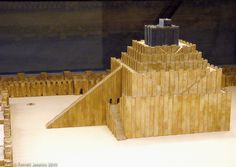 Ziggurat,   Ziggurat Model at the Pergamum Museum, Berlin. Photo by Ferrell ...