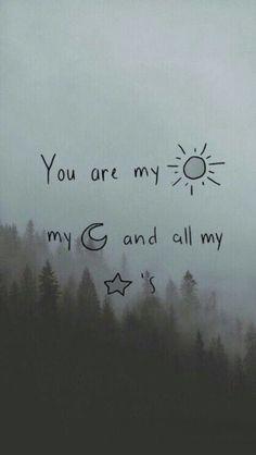 Resultado de imagen para te extraño como la luna y las estrellas extrañan al sol en las mañanas
