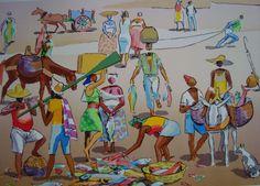Mercado de Peixe. 59x41 cm