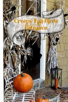 Top This Top That: Creepy 'Birds' Fall Entrance
