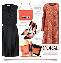 """Spring Coral"" by kiki-bi ❤ liked on Polyvore featuring DAY Birger et Mikkelsen, Fendi, NARS Cosmetics, Zara, Michael Kors, Mary Katrantzou, Bobbi Brown Cosmetics, Sisley Paris and coolcorals"