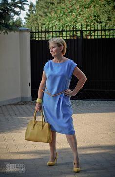 Krystyna, która prowadzi bloga pod adresem  www.balakier-style.pl