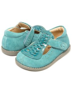 Livie and Luca - Toi Toi Shoes in Turquoise Suede