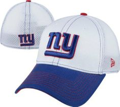 New Era New York Giants 39THIRTY Blitz Neo Flex Hat - White/Royal Blue