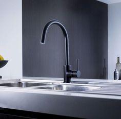 POSEIDON SINK MIXER BLACK, Sink Mixer